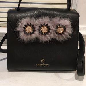 Nanette Lepore Handbag With crystal floral detail